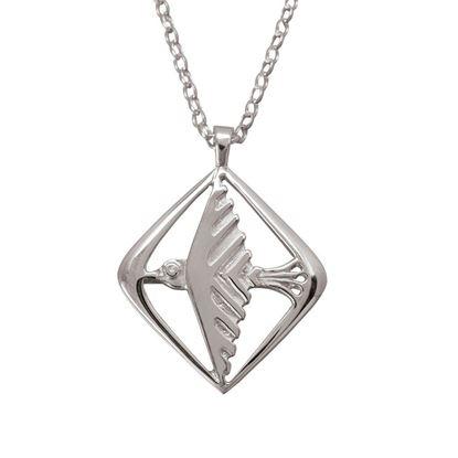 Ola Gorie - PDT-00023-18C Odin's Bird Pendant