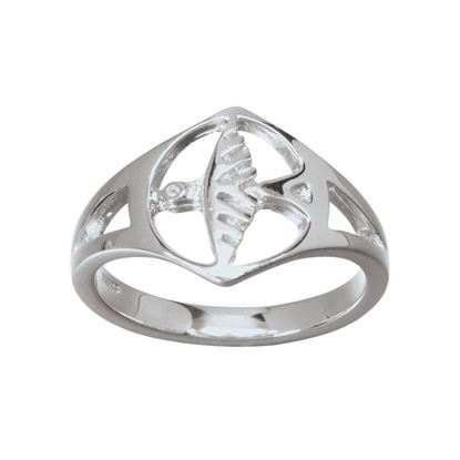 Ola Gorie - RNG-00220 Odin's Bird Ring