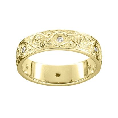 Ola Gorie - RNG-09Y-00423 Rysa Diamond Ring - Gold
