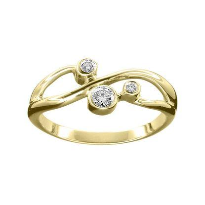 Ola Gorie - RNG-09Y-00850 Sirius Ring - Gold