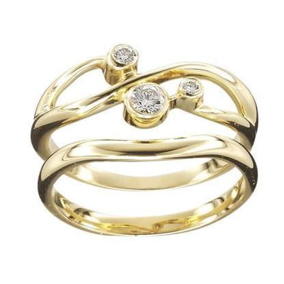 Ola Gorie - RNG-09Y-00852 Sirius Ring - Gold