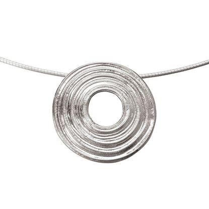 Ola Gorie - PDT-00831-16W Sun Circle Pendant