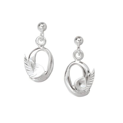 Ola Gorie - EAR-00713 Swan Earrings