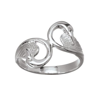 Ola Gorie - RNG-00719 Swan Ring - Gold
