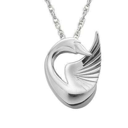 Ola Gorie - PDT-00708-18C Swan Pendant