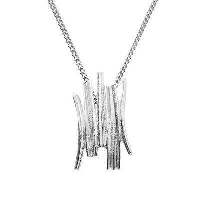 Ola Gorie - PDT-01009-16W Woodwick Pendant (shown on a chain)