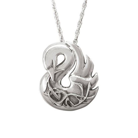 Ola Gorie - PDT-00642 Asgard Swan Pendant