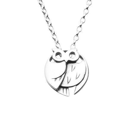 Ola Gorie - PDT-00641 Barn Owl Pendant