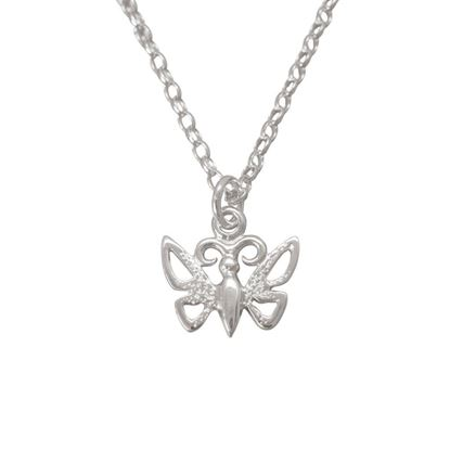 Ola Gorie - PDT-00744-18C Butterfly Pendant