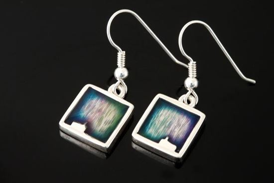 Shetland Jewellery - MDE11-H Mirrie Dancers Earrings