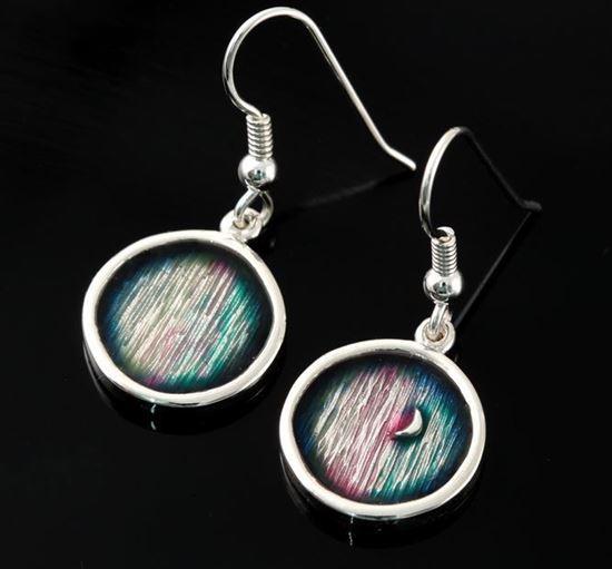 Shetland Jewellery - MDE20-H Mirrie Dancers Earrings