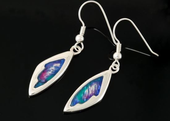 Shetland Jewellery - MDE23-H Mirrie Dancers Earrings