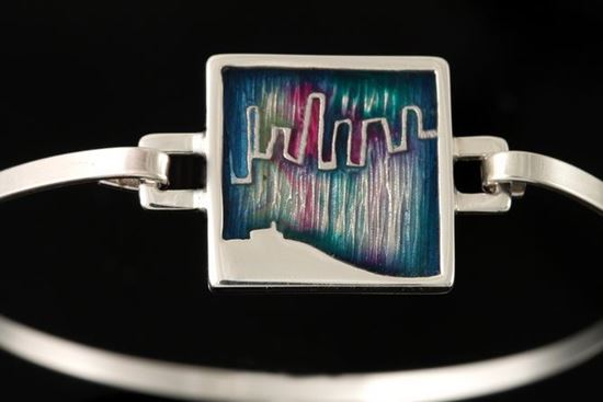 Shetland Jewellery - MDBA01 Mirrie Dancers Bangle