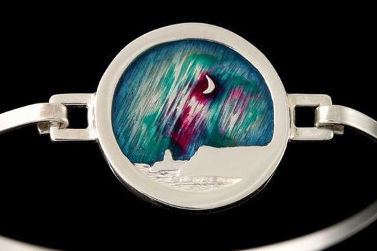 Shetland Jewellery - MDBA09 Mirrie Dancers Bangle