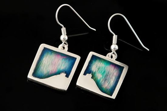 Shetland Jewellery - MDE21-H Mirrie Dancers Earrings
