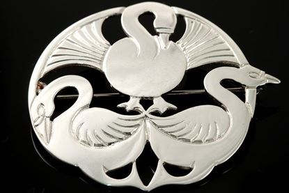 Shetland Jewellery - B773 Three Nornes Brooch