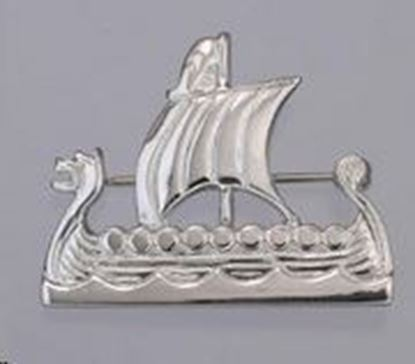 Shetland Jewellery - B6 Viking Ship Brooch