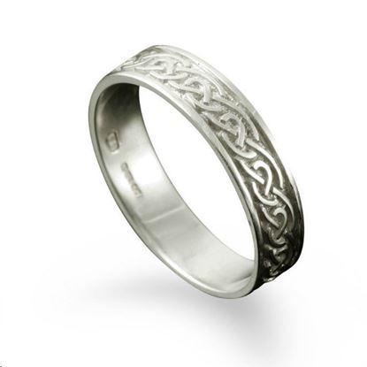 Shetland Jewellery - R121 St. Ninian's Isle Ring - Silver