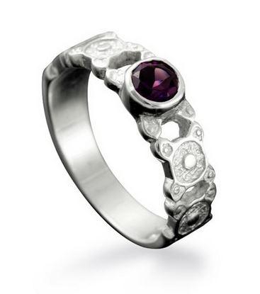 Shetland Jewellery - R522/A St Ninian's Isle Ring - Silver