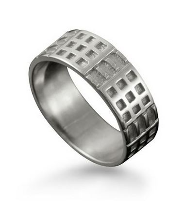 Shetland Jewellery - R160 Mackintosh Ring - Silver