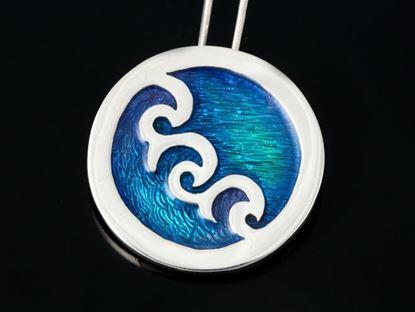 Shetland Jewellery - SSP01 Seascape Pendant