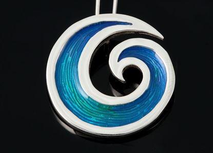 Shetland Jewellery - SSP02 Seascape Pendant