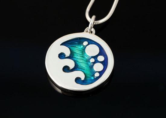 Shetland Jewellery - SSP661 Seascape Pendant