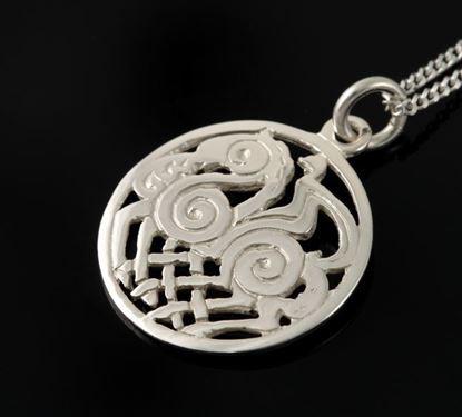 Shetland Jewellery - P114 Sleipnir Pendant