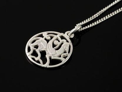 Shetland Jewellery - P224 Quendale Beast Pendant
