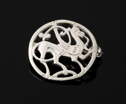 Shetland Jewellery - B223 Quendale Beast Brooch