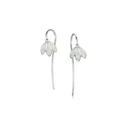Sheila Fleet - EE226 Snowdrop Earrings