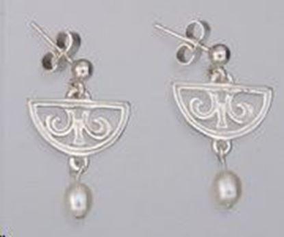 Shetland Jewellery - HE500 Celtic Earrings