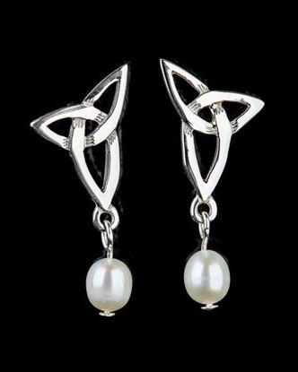 Shetland Jewellery - HE102 Celtic Earrings