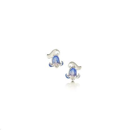 Sheila Fleet - EE0241 Bluebell Earrings (colour shown is Bluebell)