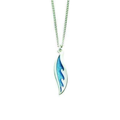 Sheila Fleet - EP068 New Wave Pendant (enamel colour shown in Pentland)