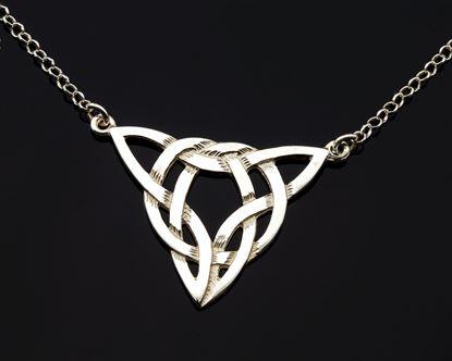 Shetland Jewellery - P192 Celtic Pendant