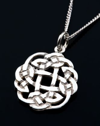Shetland Jewellery - P438 Celtic Pendant