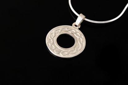 Shetland Jewellery - P603 Celtic Circles Pendant