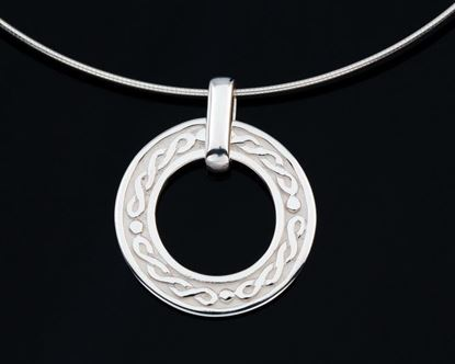 Shetland Jewellery - P601 Celtic Pendant