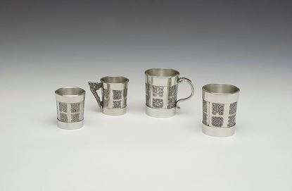 Mullingar Pewter - A18, A18H, A3, and A6 (from left to right)