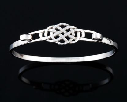 Shetland Jewellery - BA472 Celtic Bangle