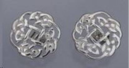 Shetland Jewellery - C438 Celtic Cufflinks