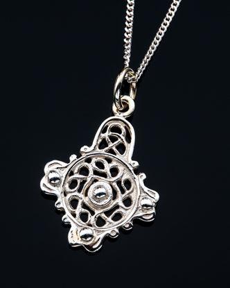 Shetland Jewellery - P533 Celtic Pendant