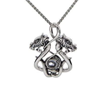 Keith Jack - PPS6105-S-WT Dragon Pendant