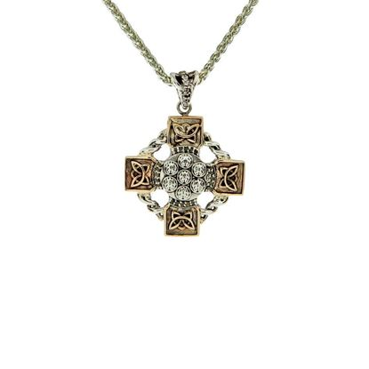 Keith Jack - PCRX6109-WT Celtic Cross Pendant
