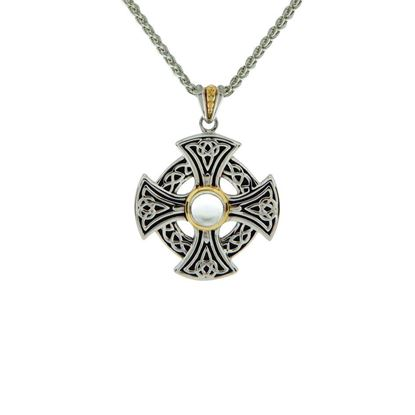 Keith Jack - PCRX6219-WT Celtic Cross Pendant