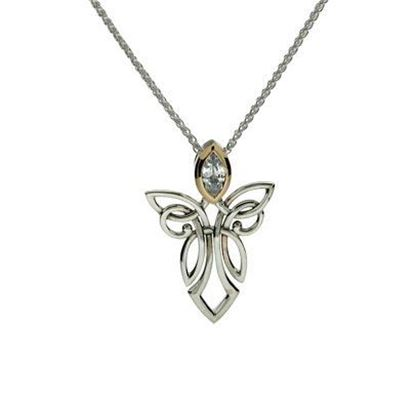 Keith Jack - PPX7848 Angel Pendant - CZ