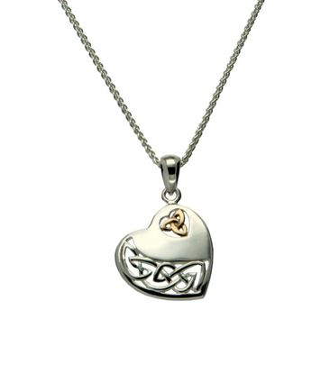Keith Jack - PPX3640 Celtic Heart Pendant