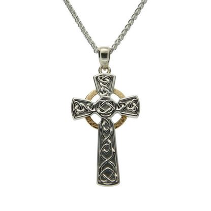 Keith Jack - PCRX3641-3 Circle Cross Pendant