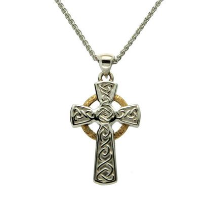 Keith Jack - PCRX3642-1 Circle Cross Pendant